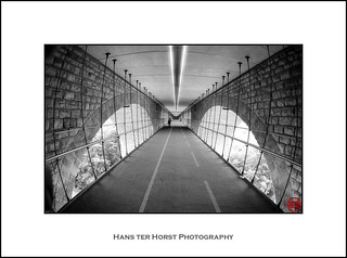 Pedestrian passage underneath Pont Adolphe, Luxembourg | by Hans ter Horst Photography