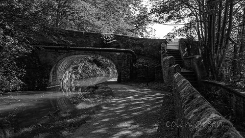 Cooper House Bridge over the Rochdale Canal