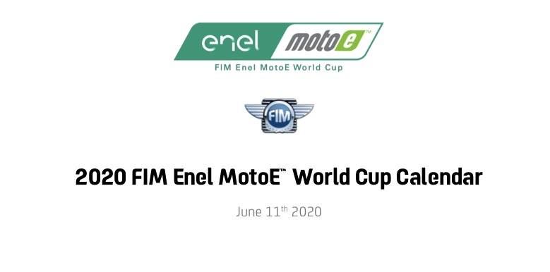MotoE Calendar 2020 FIM