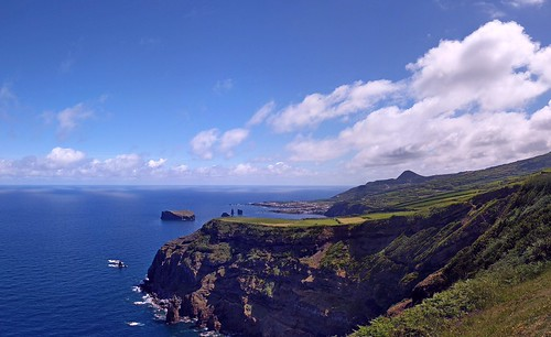 Panorama of North coast of Sao Miguel near Mosteiros | by xd_travel