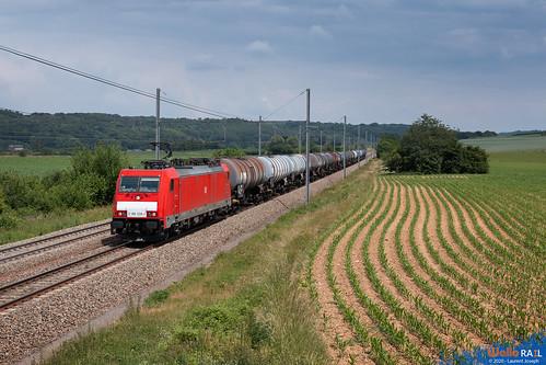 186 328 db cargo nl e47070 ligne 24 warsage 11 juin 2020 laurent joseph www wallorail be