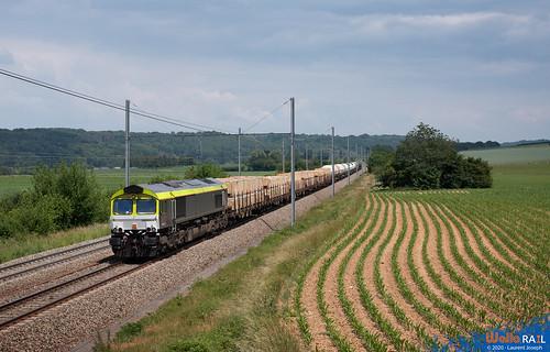266 024 railtraxx z42554 ligne 24 warsage 11 juin 2020 laurent joseph www wallorail be