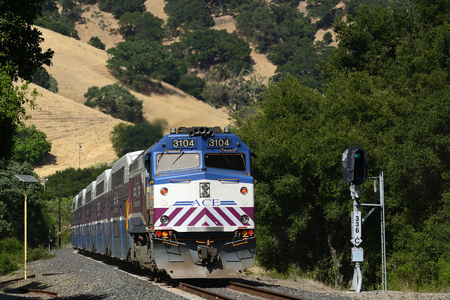 ACE 04 East in Niles Canyon, CA