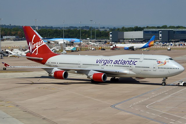 Virgin Jumbo In The History Books...