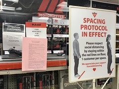 Canadian Tire precautions