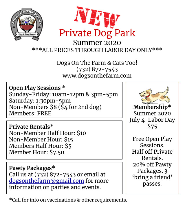private dog park flier (1)