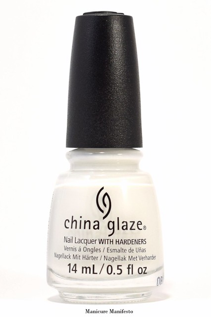 China Glaze Off-White, On Point