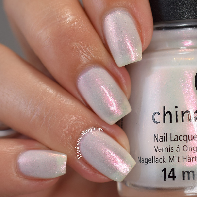 China Glaze White Hot Collection Swatch