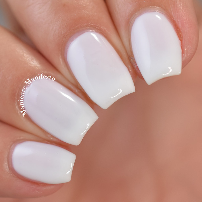 China Glaze Off-White, On Point review