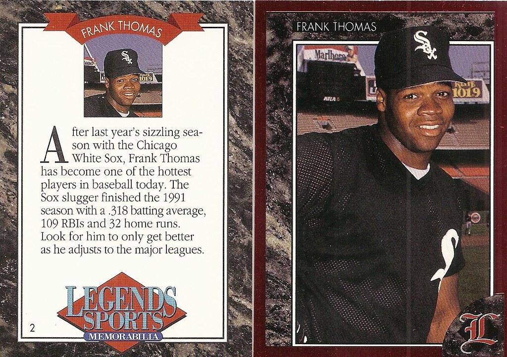 1992 Legends Magazine Insert Red - Thomas, Frank