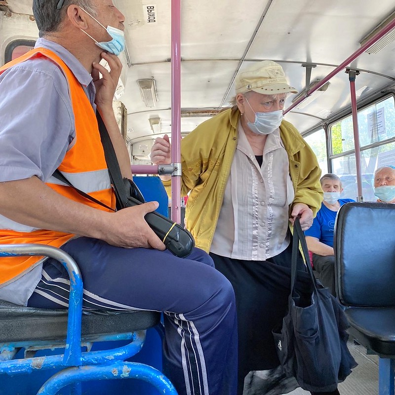 Карнавал в транспорте