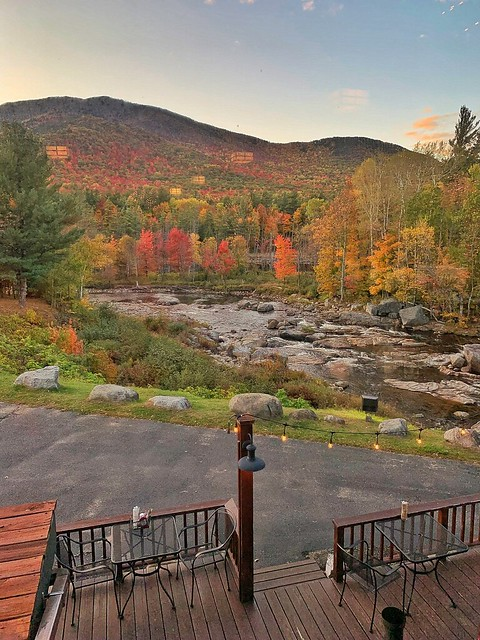 Lake Placid  - New York - Ausable River - The Hungry Trout Restaurant -  Adirondack State National Park