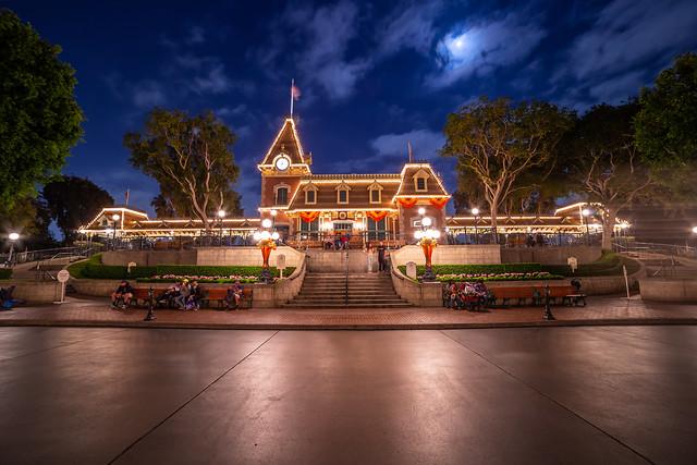 Moon over Disneyland