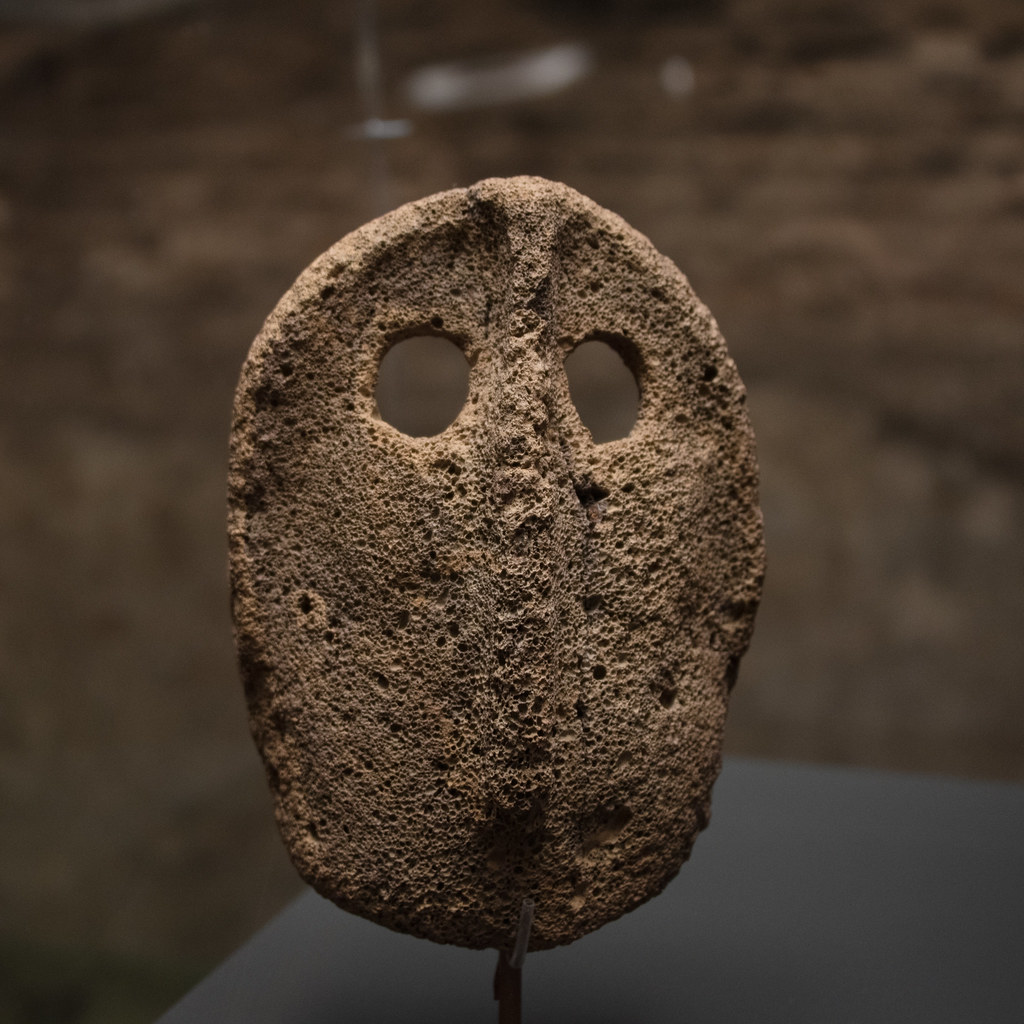 Stone mask from the Al-Jawf region