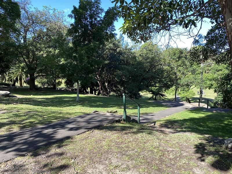 Approaching Brennan Park