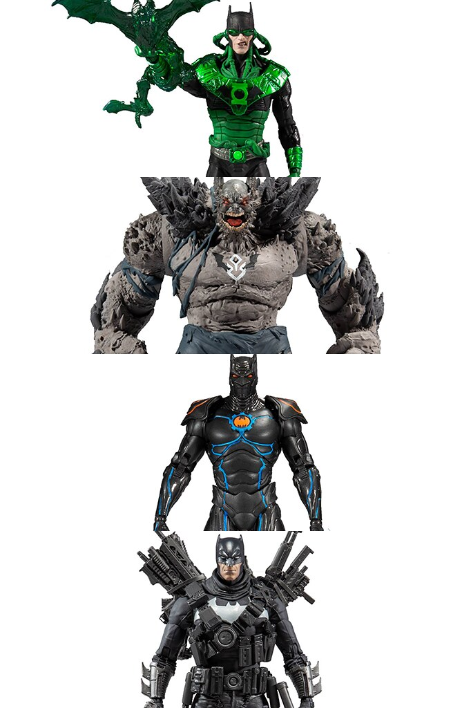 McFarlane Toys DC Multiverse 系列《Dark Nights: Metal》《The Batman Who Laughs: The Grim Knight》四款蝙蝠俠 (Batman) 可動人偶發表!