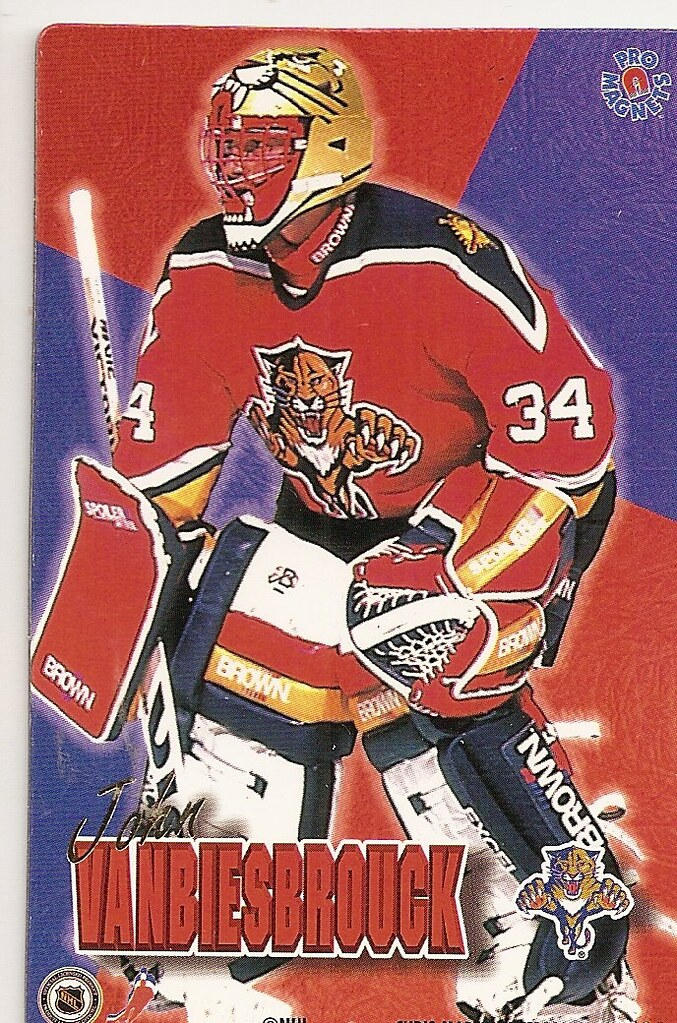 1995 Pro Magnets Hockey - Vanbruesbrouck