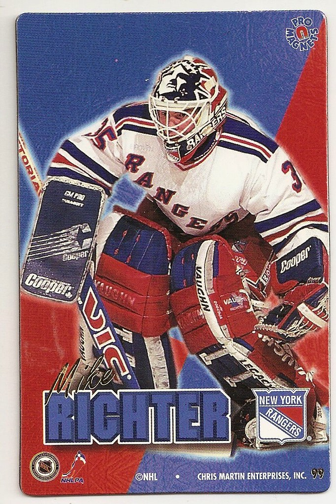 1995 Pro Magnets Hockey - Richter, Mike