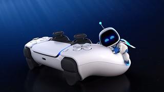 萌萌機器人帶你深入體驗 PS5 控制器~新作遊戲《太空機器人遊戲間  Astro's Playroom》內建主機中