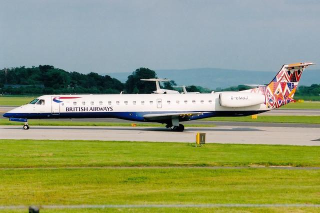 British Airways (British Regional) | Embraer ERJ-145 | G-EMBJ | Market Day | Manchester International