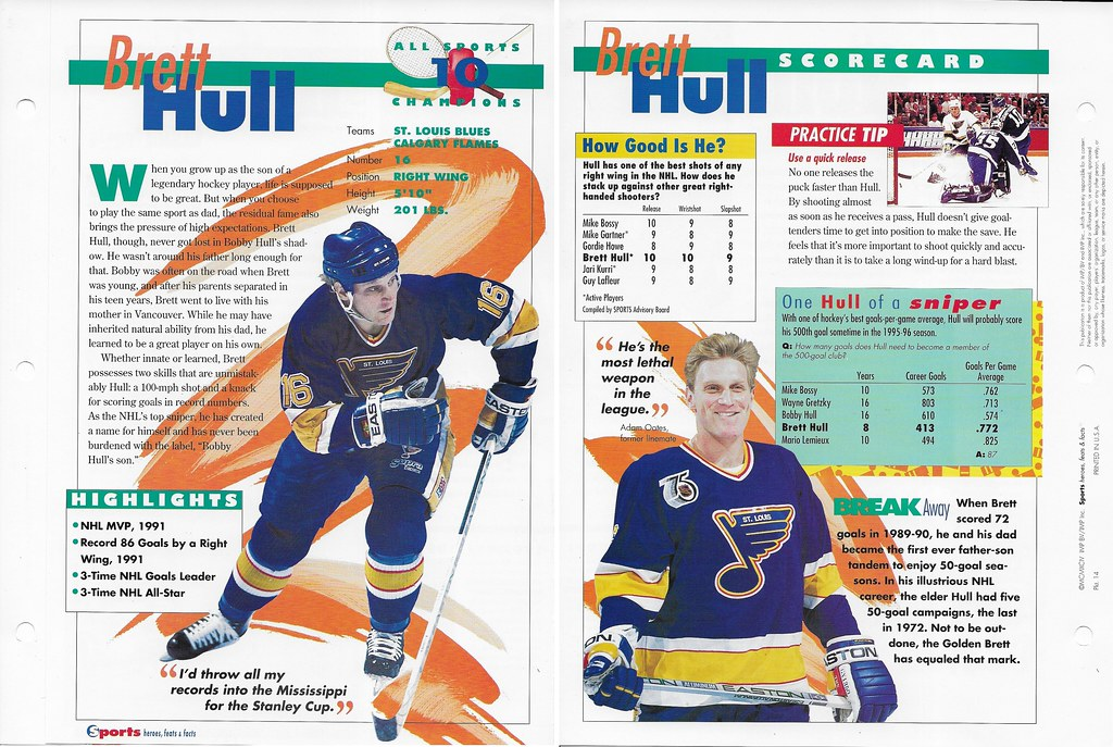 1994 Brett Hull All Sports 14