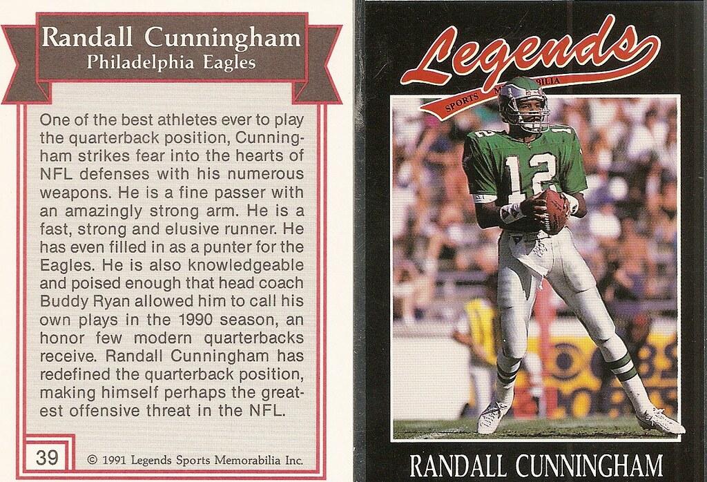 1991 Legends Magazine Insert Silver - Cunningham, Randall