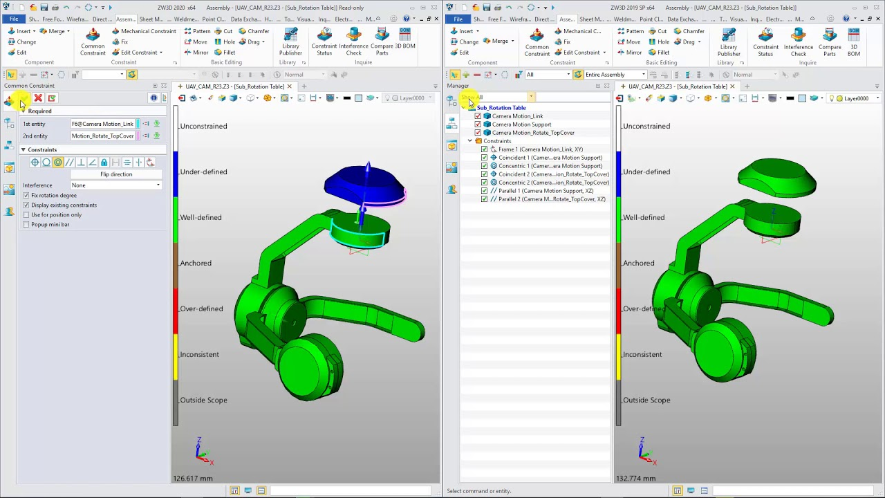 Working with ZWCAD ZW3D 2020 v24.00 full license