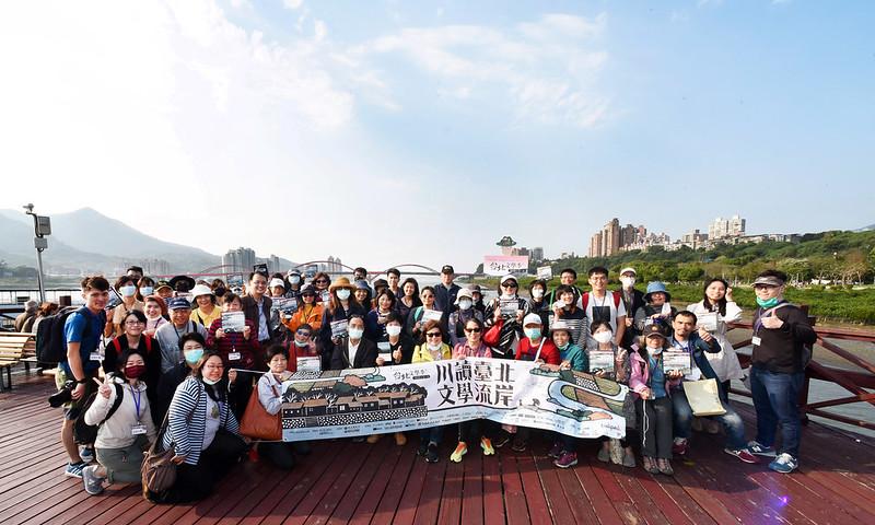 林文義x李德筠:快樂的出航──漫遊淡水河。圖/臺北文學季提供