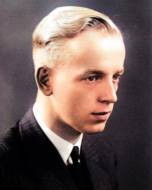 Frikkie Wiersum, entering his first job, at Java-China-Japan Line, 1937
