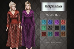 KiB Designs - Matilda Dress @Vintage Fair 2020