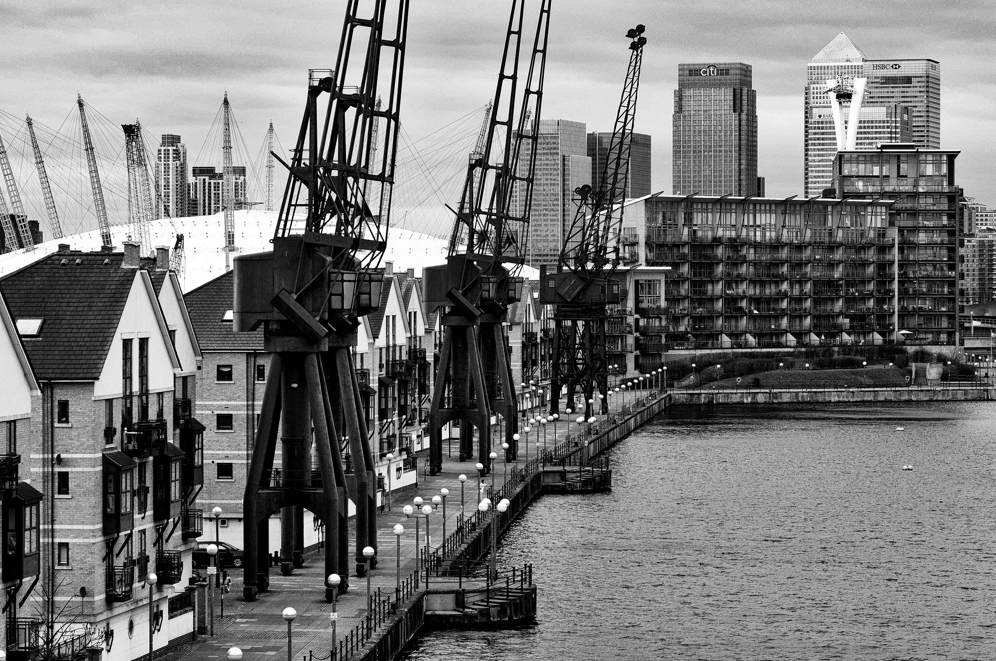 London Dockland Structures 2012