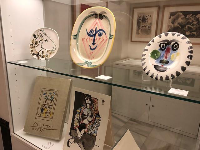 Interior del Museo Picasso de Buitrago del Lozoya (Madrid)