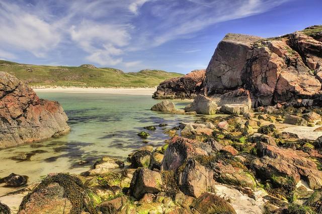 Polin Bay - Oldshoremore, Highland, Sutherland, Scotland, UK