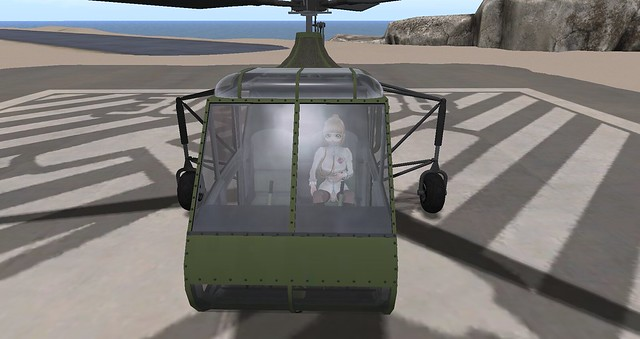 Mikoto's Sikorsky R-4 Arrived at Costner Bay from Tulagi