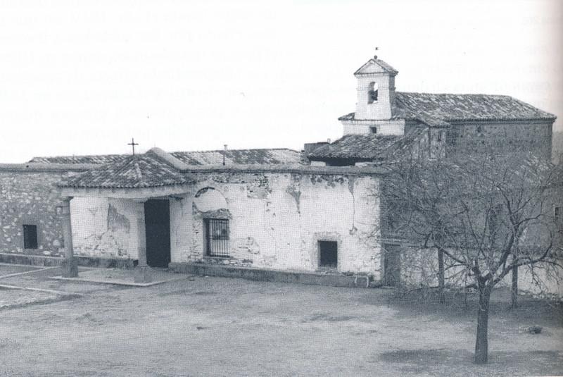 Ermita de la Virgen de la Guía a mediados del siglo XX. Foto Villasante