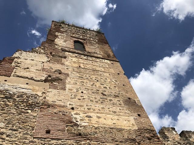 Torre del castillo en Buitrago del Lozoya (Madrid)