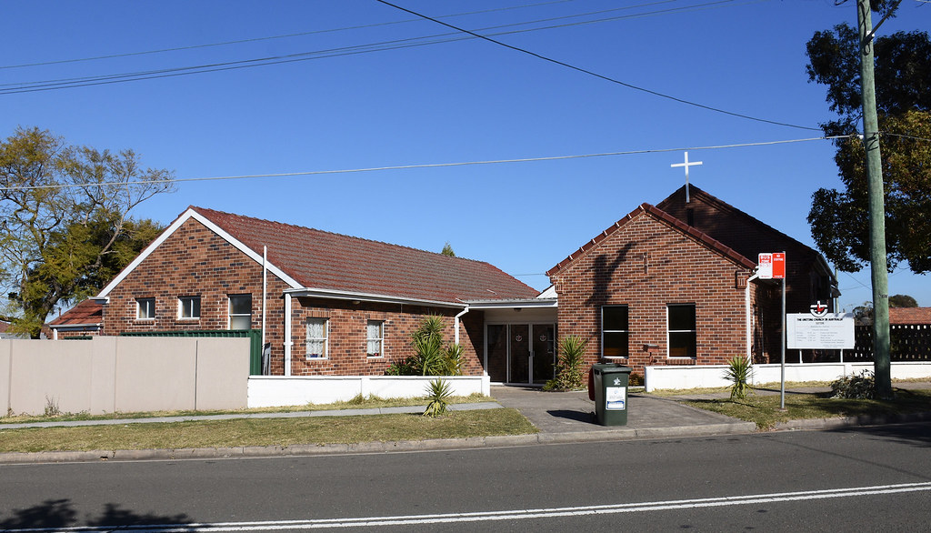 Sefton Uniting Church, Sefton, Sydney, NSW.