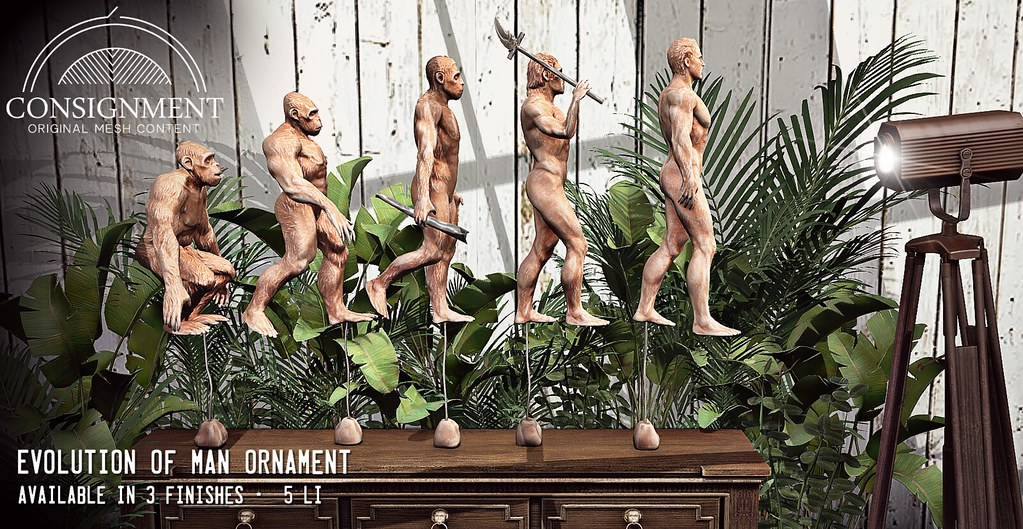Evolution of man Statue – out @ c88