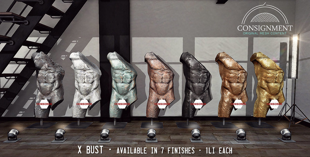 X bust @ FaMESHed X