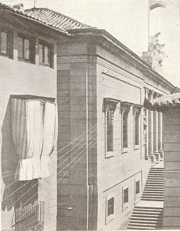 Palacio Universitario de Lorenzana (posteriormente Instituto) a finales del siglo XIX