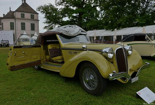 1938 Delahaye 135 Coupe des Alpes cabriolet Tüscher