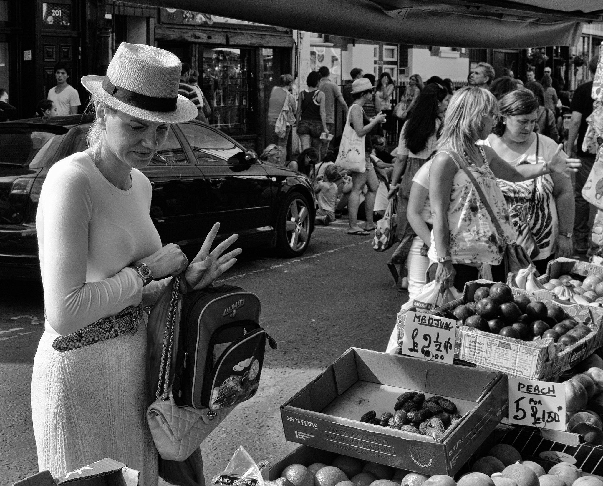 Portobello market 2011