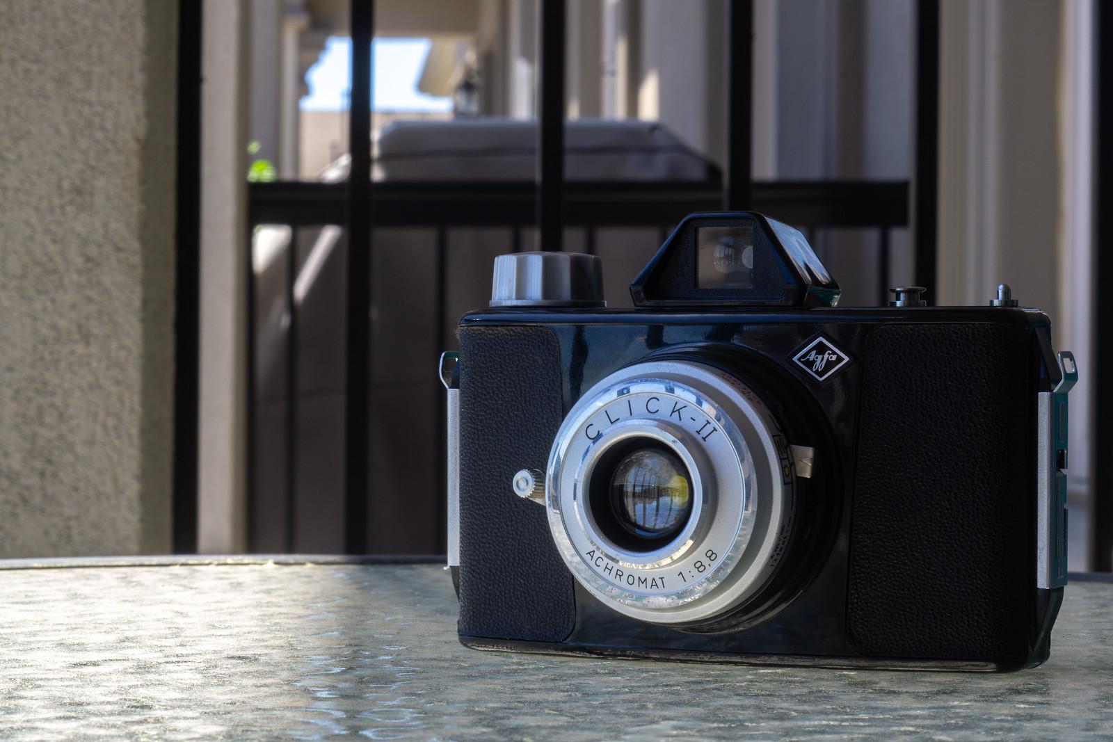 Camera Review Blog No. 125 - Agfa Click-II