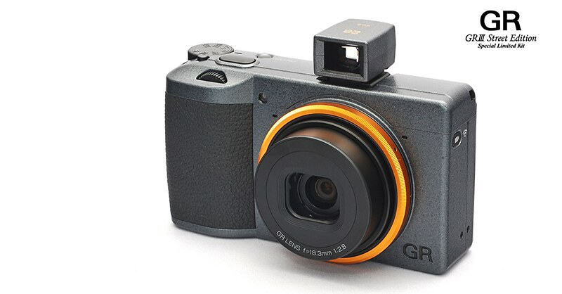 First photos of new RICOH GR III Street Edition Special Limited Kit