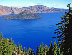 Unworldly Blue, Crater Lake NP, OR 8-13