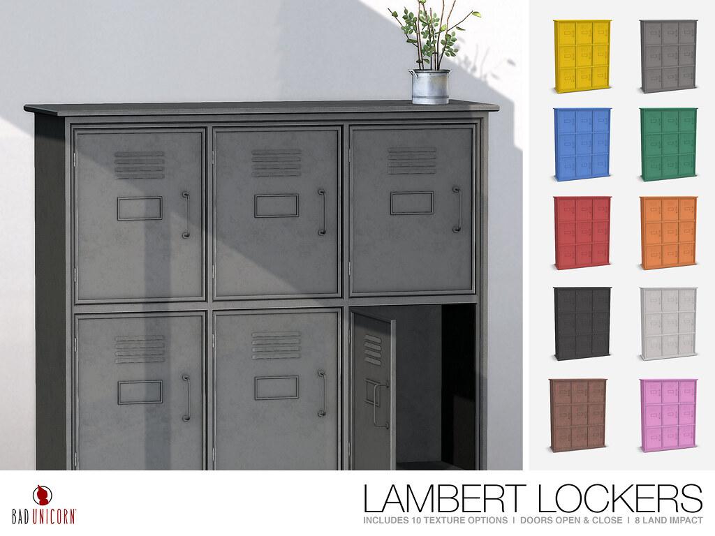 NEW! Lambert Lockers @ C88