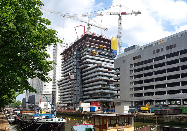 Terraced Tower Rotterdam juni2020 Scheepmakershaven