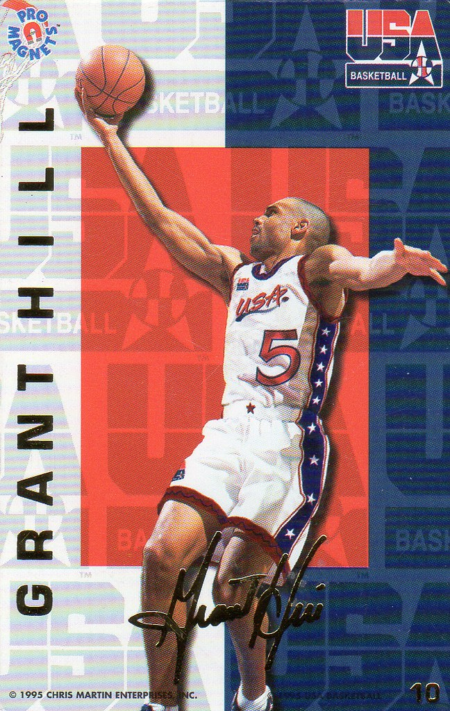 1995 Pro Magnets USA Basketball - Hill, Grant