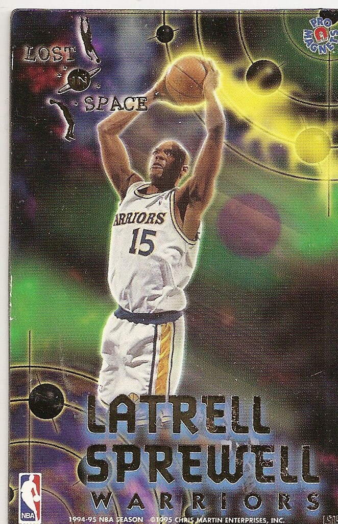 1995 Pro Magnets Basketball Lost in Space- Sprewell