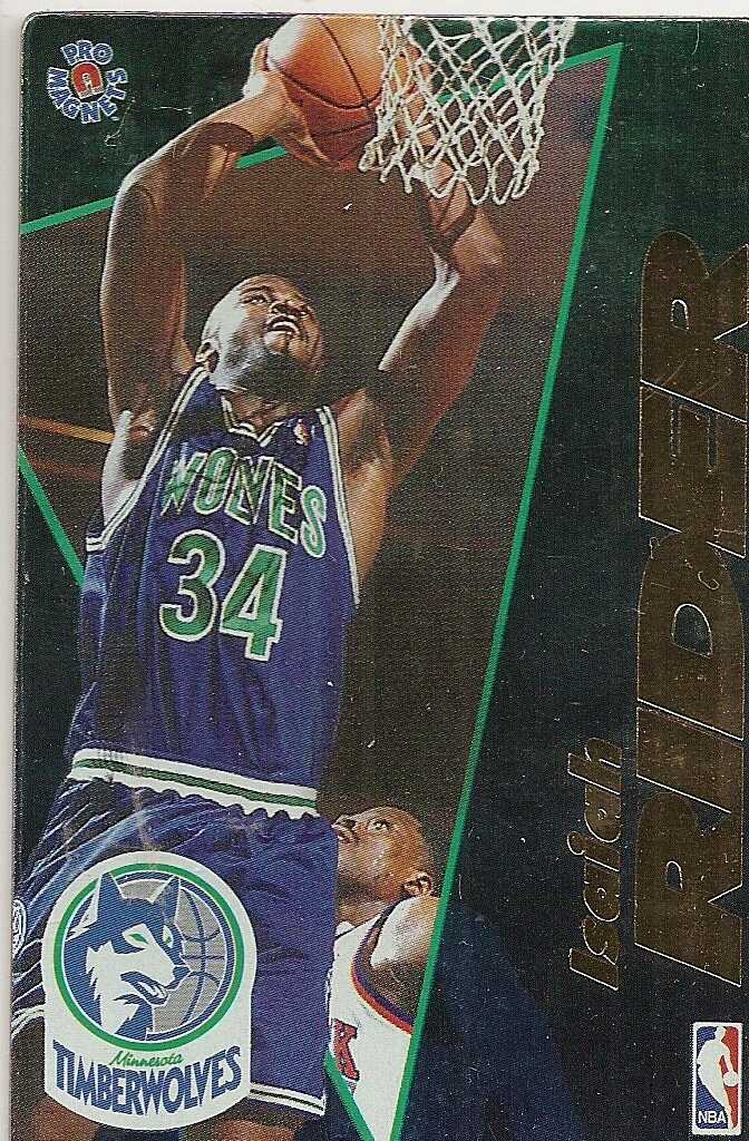 1995 Pro Magnets Basketball - Rider, Isiah